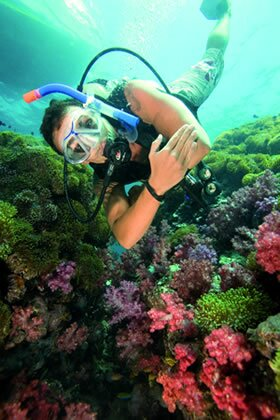 Thai scuba diving